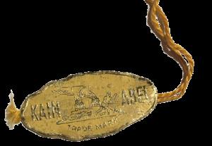 Echtheits-Plakette der Marke Kain-Abel von Emil Broch