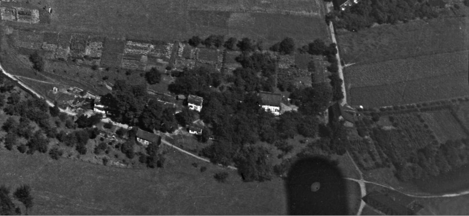 Schräg-Luftbild von 1926